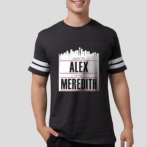 Alex to my Meredith Mens Football Shirt
