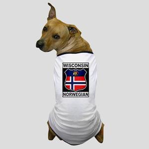 Wisconsin Norwegian American Dog T-Shirt