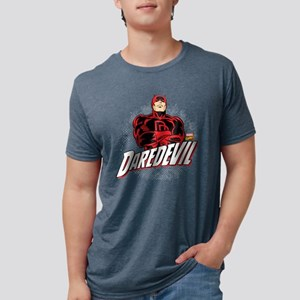 Daredevil Comic with Arms C Mens Tri-blend T-Shirt