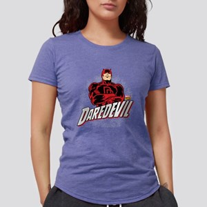 Daredevil Comic with Arms Womens Tri-blend T-Shirt