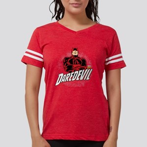 Daredevil Comic with Arms Cr Womens Football Shirt