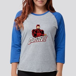 Daredevil Comic with Arms Cros Womens Baseball Tee
