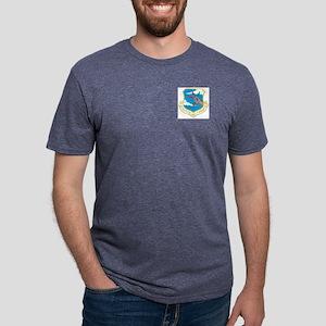 Strategic Air Command shie  Mens Tri-blend T-Shirt