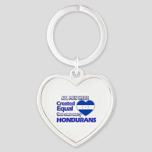 Hondurans wife designs Heart Keychain