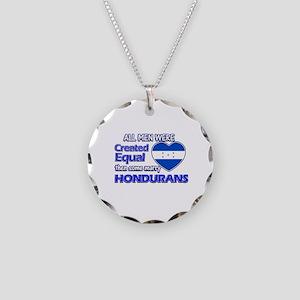 Hondurans wife designs Necklace Circle Charm