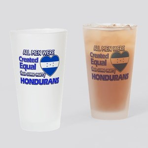 Hondurans wife designs Drinking Glass