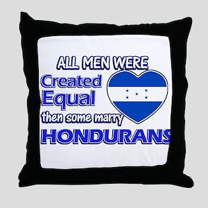 Hondurans wife designs Throw Pillow