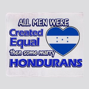 Hondurans wife designs Throw Blanket