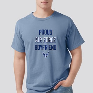 Proud Air Force Boyfrien Mens Comfort Colors Shirt