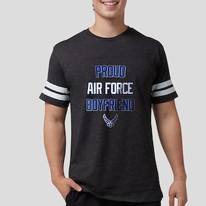 Proud Air Force Boyfriend Mens Football Shirt