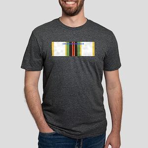 Cold War Service Ribbon wit Mens Tri-blend T-Shirt