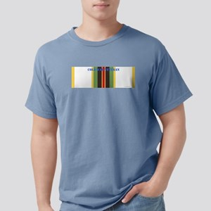 Cold War Service Ribbon  Mens Comfort Colors Shirt