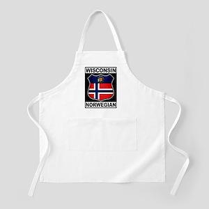 Wisconsin Norwegian American Apron
