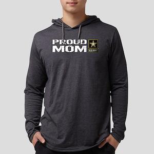 U.S. Army: Proud Mom Mens Hooded Shirt