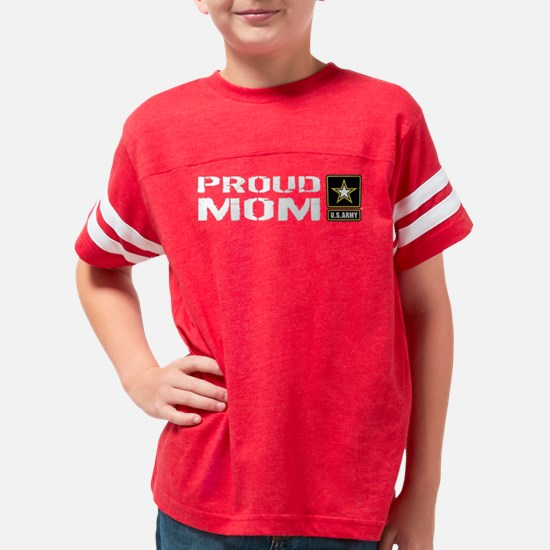 U.S. Army: Proud Mom Youth Football Shirt