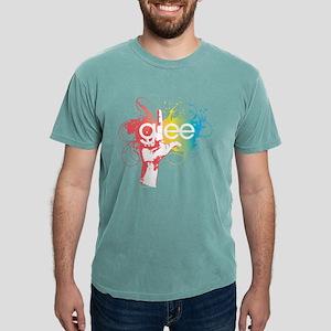 Glee Splatter Dark Mens Comfort Colors Shirt