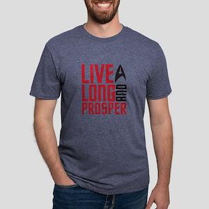 live long Mens Tri-blend T-Shirt