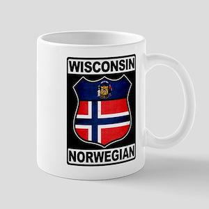 Wisconsin Norwegian American Mug