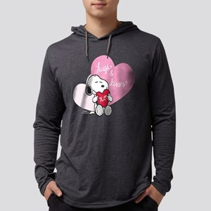 Snoopy - Hugs and Kisses Mens Hooded Shirt