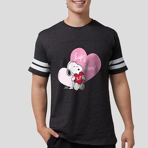 Snoopy - Hugs and Kisses Mens Football Shirt