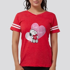 Snoopy - Hugs and Kisses Womens Football Shirt
