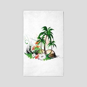 Summer Design, 3'x5' Area Rug