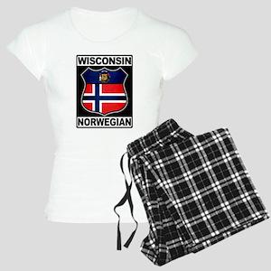 Wisconsin Norwegian American Pajamas