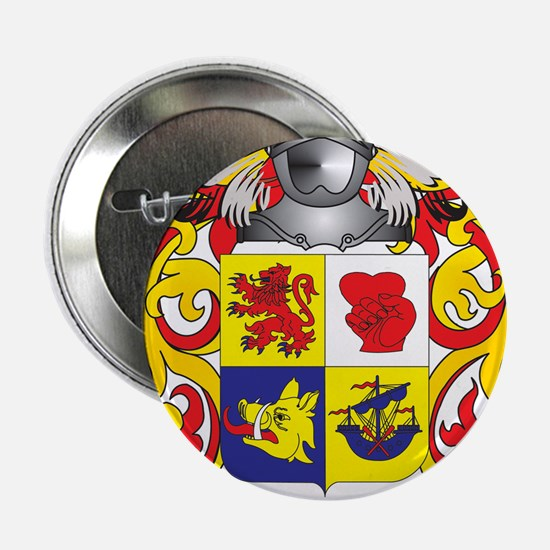 "McIntosh Coat of Arms - Family Crest 2.25"" Button"