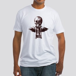 Fugit Hora Fitted T-Shirt