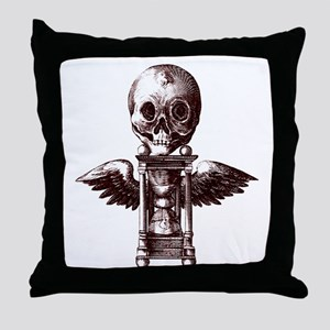 Fugit Hora Throw Pillow