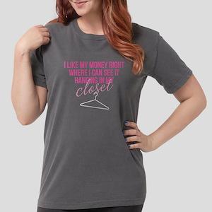 SATC: Money In My Clos Womens Comfort Colors Shirt