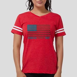 American Horror Story Flag L Womens Football Shirt