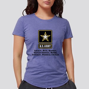 U.S. Army Values Womens Tri-blend T-Shirt