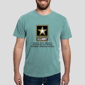 U.S. Army Values Mens Comfort Colors Shirt