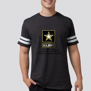U.S. Army Values Mens Football Shirt