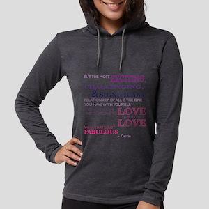 SATC: Relationship Womens Hooded Shirt