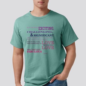 SATC: Relationship Mens Comfort Colors Shirt