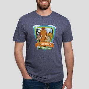 Ice Age Together Dark Mens Tri-blend T-Shirt