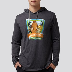 Ice Age Together Dark Mens Hooded Shirt