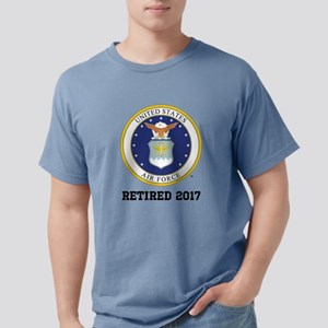 Personalized Air Force R Mens Comfort Colors Shirt
