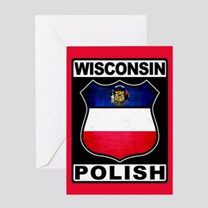 Wisconsin Polish American Greeting Card