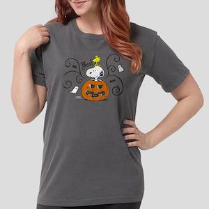Peanuts Snooky Sketch  Womens Comfort Colors Shirt