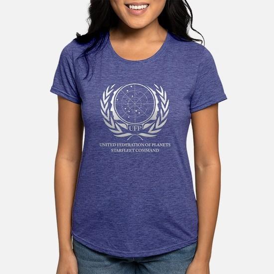 Star Trek United Federati Womens Tri-blend T-Shirt
