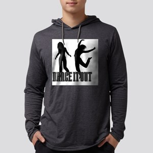 Dance It Out Mens Hooded Shirt