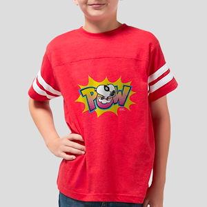 Peanuts Snoopy Pow Dark Youth Football Shirt