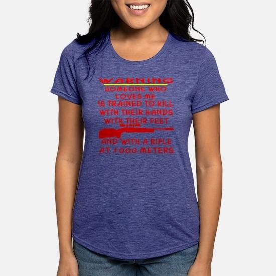 blk_Someone_Who_Loves_Me_ Womens Tri-blend T-Shirt