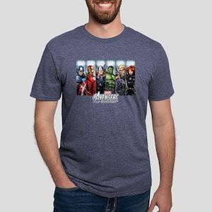 avengers assemble Mens Tri-blend T-Shirt