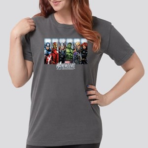 avengers assemble Womens Comfort Colors Shirt
