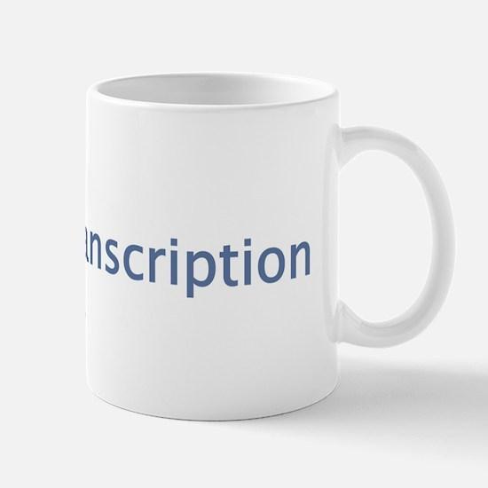 Cute Medical transcriptionist Mug