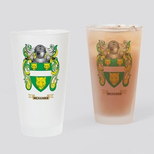 McKenna Coat of Arms - Family Crest Drinking Glass